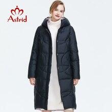 ¡Novedad de invierno 2019! Abrigo de invierno para mujer de alta calidad estilo largo grueso de algodón cálido abrigo de invierno para AR 6596