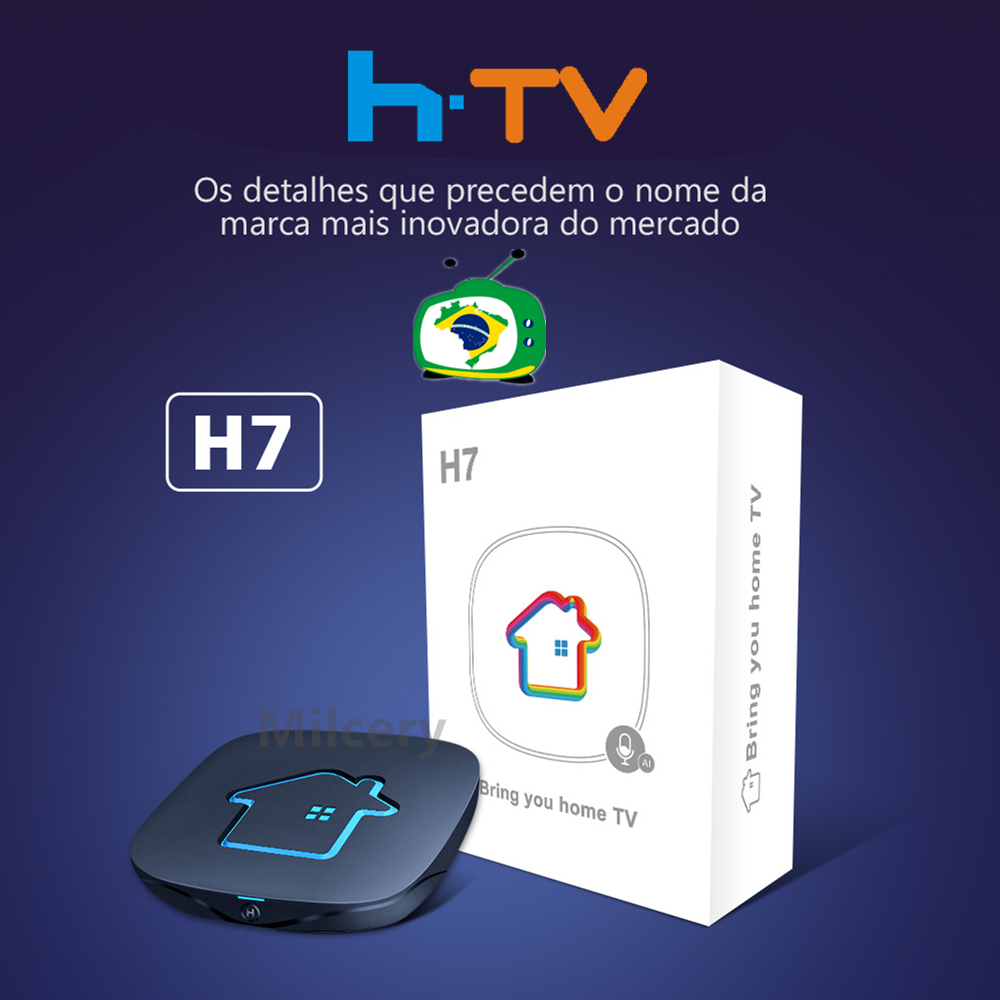 2021 оригинальная коробка htv 7 brasil HTV6 + коробка HTV 6 plus brasil Tigre2 коробка HTV 6 brasil IPTV8 A3 4k canais do Brazil HD TV