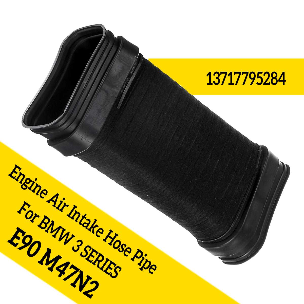 Autoleader Polypropylene Engine Air Intake Hose Pipe Fit For 3 Series E90 M47N2 13717795284 Parts