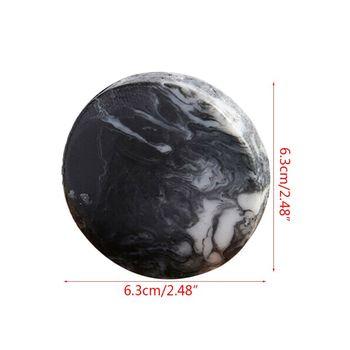 Vulkanischen Ton Kaffee Abnehmen Seife Bar Organische Aktivkohle Körper Klar Bar Seife Anti Bakterielle Seife Bar mit 5PCS