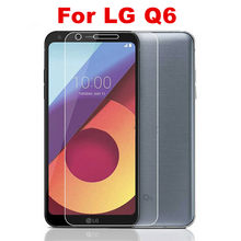 2pcs Tempered Glass For LG Q6 lg Q 6 Screen Protector on LG Q6 alpha Q6a Q 6 a M700 Screen Protector Glass Protective Flim Cover(China)