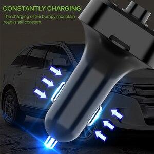 Image 4 - Onever רכב Fm משדר LCD MP3 נגן אלחוטי Bluetooth קבלת רכב ערכת 3.1A מהיר USB ידיים משלוח USB מטען FM מודולטור