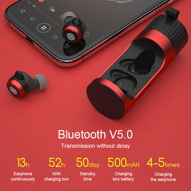 NILLKIN Bluetooth Kopfhörer IPX5 14