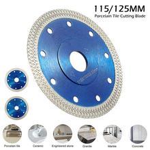 Turbo diamante viu lâmina disco telha de porcelana cerâmica granito mármore lâminas de corte para ângulo moedor diamante lâmina serra 115mm