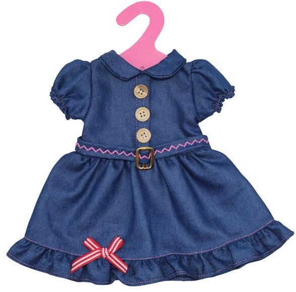 Doll Clothes dress for 18 inch reborn Baby Doll Accessory