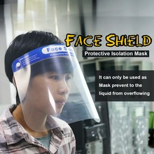 Vapesoon Защитная Регулируемая противокапельная Пылезащитная Полнолицевая маска козырек противовирусная Ветрозащитная маска для лица
