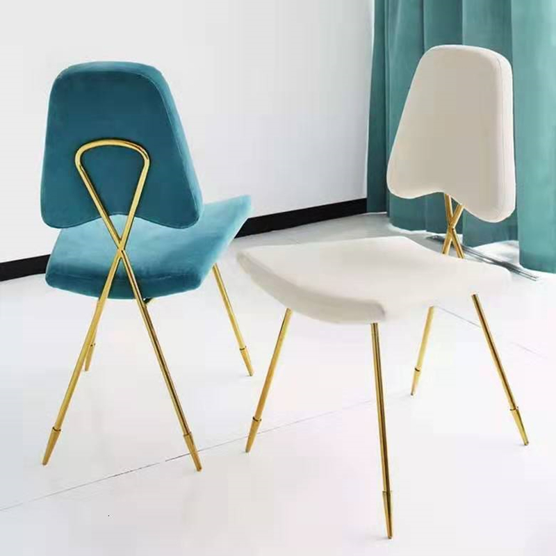Light Extravagant Makeup Chair Cheap Modern Dining Chair Personality Princess Nordic Restaurant Chairs Sillas Comedor Cadeira