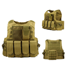 Adjustable Vest Molle Armor Army Outdoor Sport Hunting Equipment Tactical Training Vest Military Camo Paintball Shooting Clothes