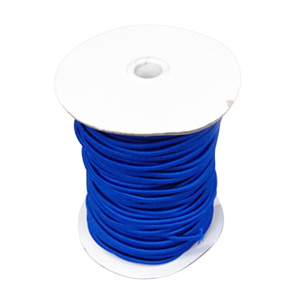 4mm 10m Blue Elastic Bungee Cord Shock Cord Tie Down Boat Trailer Tarpaulin