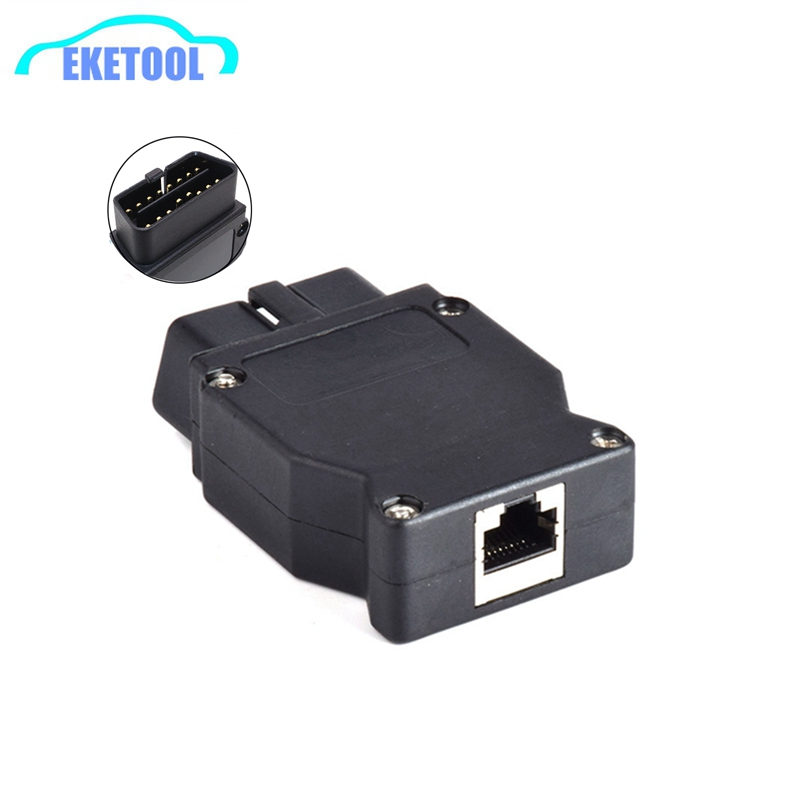 OBD2 16Pin For BMW Connector OBD Plug Adapter For BMW Enet Ethernet ESYS iCOM Coding For BMW Car Connector Diagnostic Tool(China)