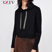 hooded sweatshirt RZIV ลำลอง