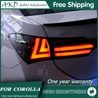 Tail Lamp For Car Toyota Corolla 2014 2017 New Altis Tail Lights Led Fog Lights DRL Day Running Light Tuning Car Accessories