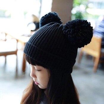 כובע צמר מחמם לילדים מגיל שנתיים ועד 10