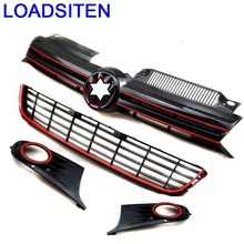 Upgraded Automovil Protector Styling Decorative Mouldings Car Accessories Racing Grills FOR Volkswagen Golf 6