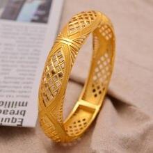 Браслеты 24k этнические (1 шт/лот) нация Дубай Африканский золотой