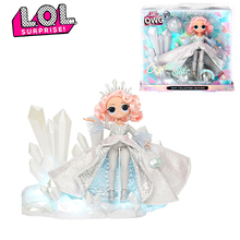 Original LOL Surprise Dolls Toys Winter Disco OMG Series Collect Crystal Star Beautiful Hair Fashion Model Doll Toy for kid Gift