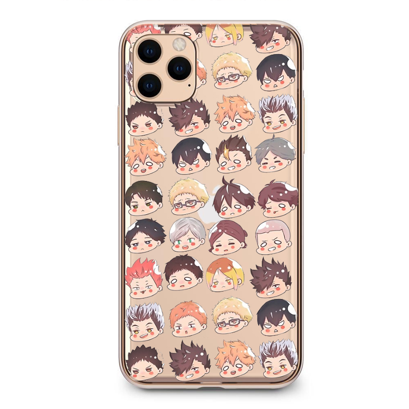 Haikyuu Hinata attacks Anime TPU Soft TPU Silicone Phone Case For iPhone 12 11 Pro X XS MAX 6 7 8 Plus XR 2020SE Fundas Coque