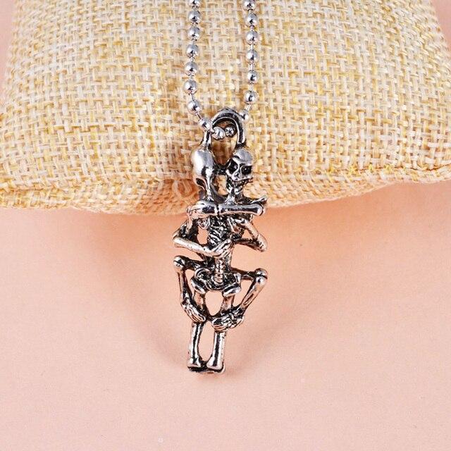 Ожерелье с черепом Лидер продаж подвеска ожерелья из сплава