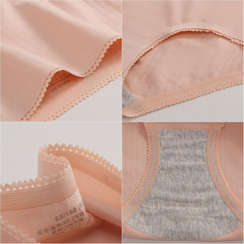 2019 Sexy Lace Pretty Briefs Women Seamless Ultra-thin Underwear Cotton Female Traceless Lingeries Panties