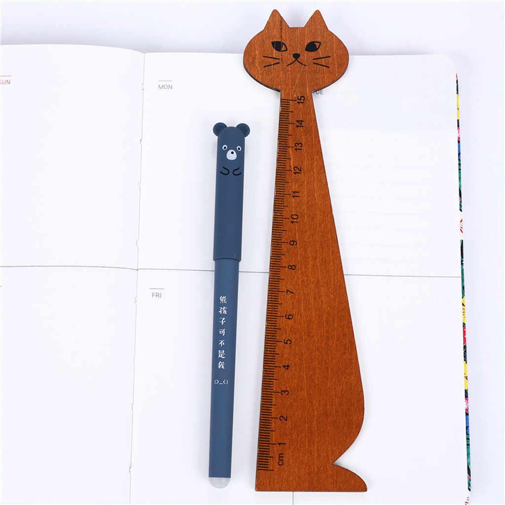 2020 Mới 4 X Dễ Thương Kawaii Mèo Hoạt Hình Mực Gel Bút Bi 0.35 Mm Mực Xanh Sinh Viên Bút