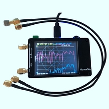 For Nanovna Vector Network Analyzer Press Screen Hf Vhf Uhf Uv 50Khz-900Mhz Antenna Analyzer Chargeable цена и фото