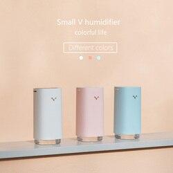 320ML nawilżacz powietrza usb czyste powietrze pielęgnacja skóry nano spray technologia dyfuzor olejków eterycznych z projektorem nawilżacze światła LED w Nawilżacze powietrza od AGD na