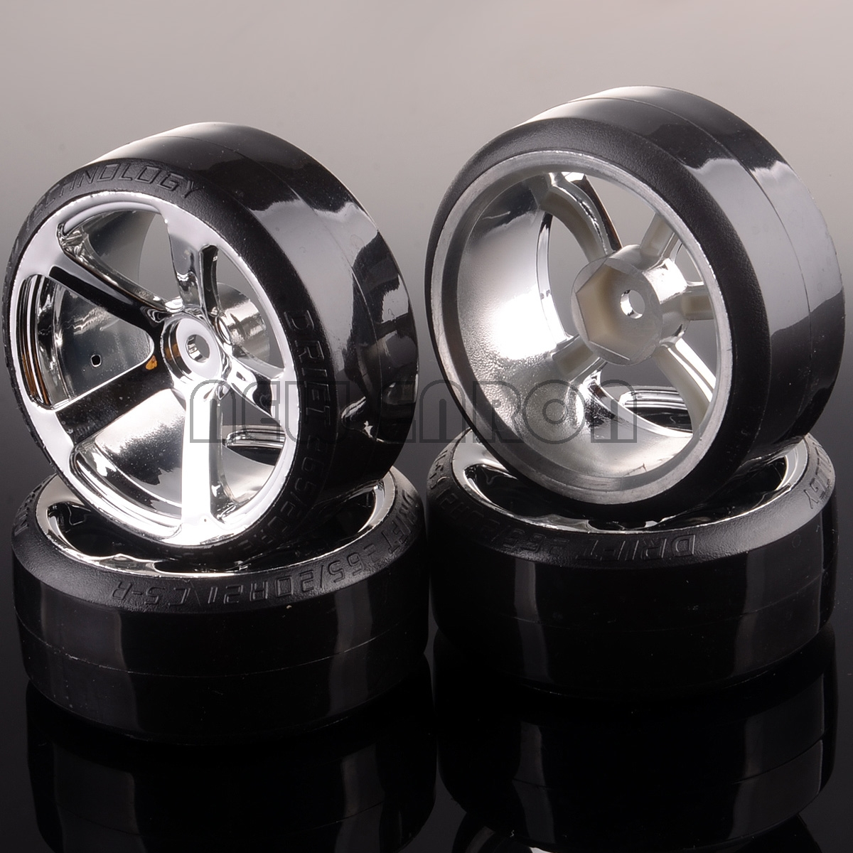 NEW ENRON 4P Plastic Wheel Rim Hub &61mm Tyre Hard Pattern Drift Car For RC 1:10 HSP Traxxas Tamiya HPI On-road Drifting Car