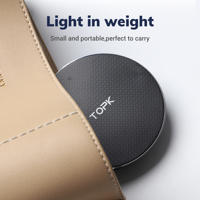 Wireless Charger for iPhone Xs Max X 8 Plus 10W Fast Charging Pad for Samsung Note 9 Note 8 S10 Plus 5