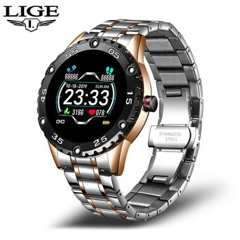 LIGE New Smart Watch men And women Sports watch Blood pressure Sleep monitoring Fitness tracker Android ios pedometer Smartwatch 7