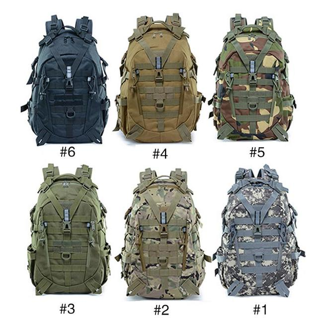 Picnic Hunting Mountaineering Backpack Cycling Bag Field Survival BL075 25L Oxford 900D Encryption Waist Tactical Backpack 6