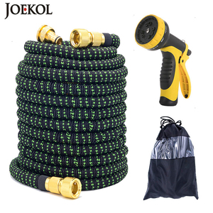 25FT-150FT Garden Hose Flexible Expandable Hose Garden Water Hose Magic Watering Hose Car Washing Hose Pipe With Spray Gun(China)
