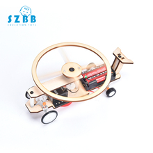 SZ STEAM Model Toy Diy Electric Helicopter Developing Intelligent STEM Motor Birthday Gift SZ3368