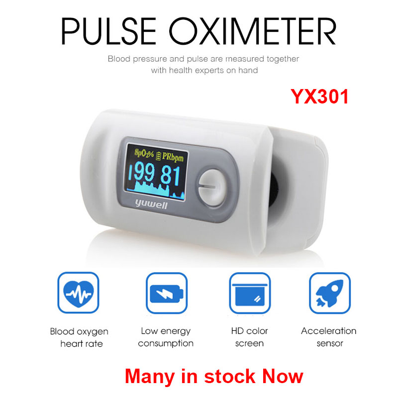 Original Xiaomi YX301 Oximeter OLED Screen Digital Fingertip Pulse Care High-speed Sensor Auto Power Off Health For Family