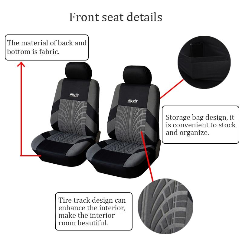 Blue Chemu Universal 9 Piece Seat Covers for Mitsubishi L200 ASX Eclipse Cross Outlander Carisma