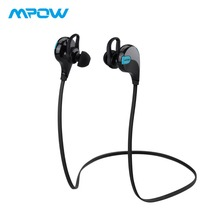 Original Mpow Swift Wireless Earphones Waterproof Noise Cancelling Headphones APTX Stereo Earbuds With Mic For iPhone X/8/7/6 original mpow flame bluetooth headphones hifi stereo wireless earbuds waterproof sport earphones with mic portable carrying case
