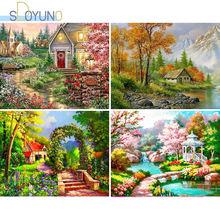 Sdoyuno diy Краска по номерам пейзаж 60х75см масляная краска
