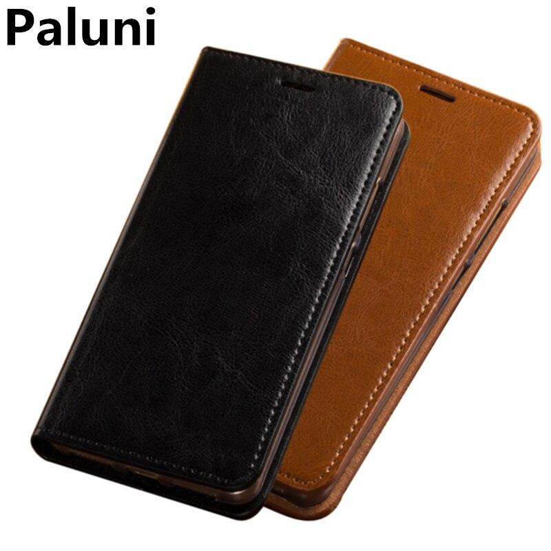 Деловой кошелек чехол для телефона чехлы из натуральной кожи для Redmi Note 6 Pro/Redmi Note 5 Pro откидной Чехол портмоне