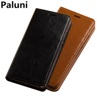 Business wallet phone case genuine leather covers for Samsung Galaxy S9 Plus/Samsung Galaxy S9 wallet case card slot holder capa