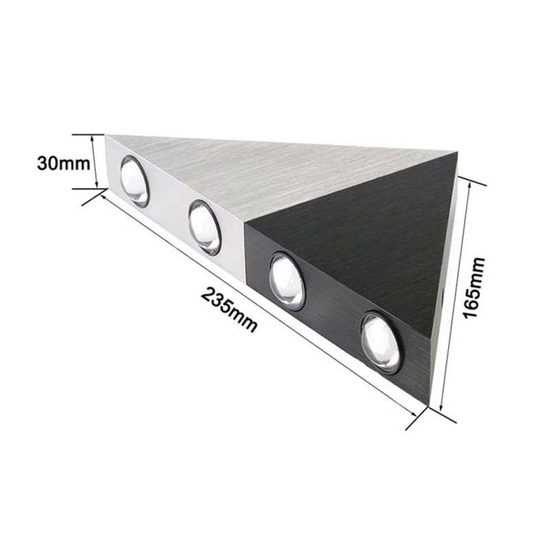 5W LED Wall Lights Up Down Wall Lamps Triangle Indoor Outdoor Modern Lamp Sconce Bedroom Kitchen