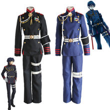 Anime Seraph of the end Costumes Accessories Cosplay Emperor Ghost Army Moon Ghost Team Red Lotus Team Wear Halloween uniform(China)