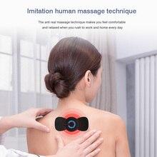 Relief-Massage-Patch Stimulator Electric-Neck Pain Wireless Mini Intelligent