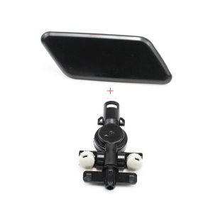 Image 4 - Car accessories Front Bumper HeadLight Washer Spray Nozzle Cover Left Right With Connector Holder for Subaru Outback 2010 2012