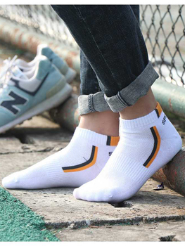 10 Pair High Quality Men Ankle Socks Breathable Cotton Sports Socks Mesh Casual Athletic Summer Thin Cut Short Sokken Size 38-48