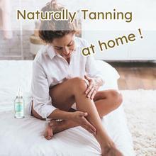 Sun Tan Oil Cream Tanning Salon Bronzer For Body Sunblock Makeup Foundation Tanner Lotion H3E4