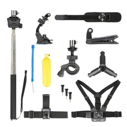 13 In 1 Bundle For Dji Osmo Action Camera Mount Stick Tripod Accessory