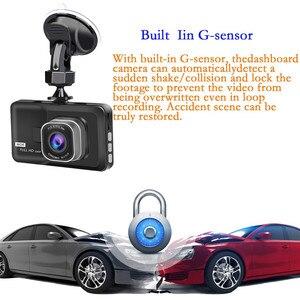 Image 3 - 3 Inch Xe ĐẦU GHI HÌNH Camera Full HD 1080P Hai Ống Kính Chiếu Hậu Video Camera Tự Động Registrator Tầm Nhìn Ban Đêm Dash cam