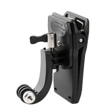ABKK-J Shape Backpack Clip Mount for XiaoYi Gopro Hero8 7 6 5 4 Action Camera Accessories(China)