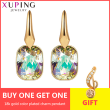 Xuping Jewelry Luxury Hoops Earrings Crystals from Swarovski Free gift wrapping Mother's Day Gifts for Women Girls S150-20555