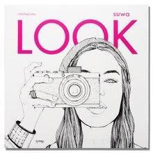 96 paginas Fashion LOOK Kleurboeken Voor Volwassen Kinderen Meisjes antistress Art Tekening Schilderij Geheime Tuin kleurboek Libros