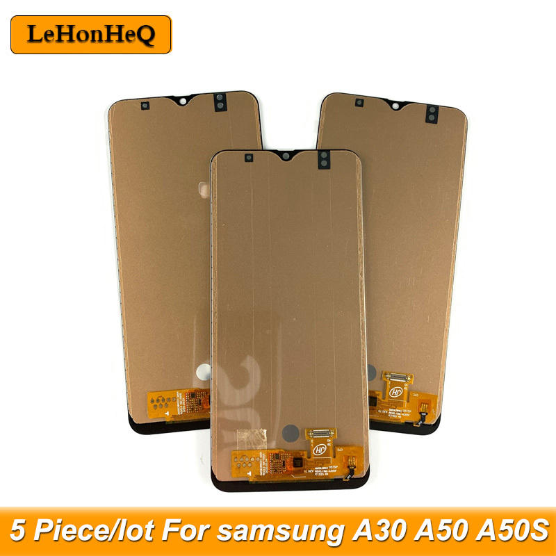 5 Teile/los <font><b>A30</b></font> A50 A50S incell TFT Für samsung galaxy <font><b>A30</b></font> A50 A50S A305 A505 A507 <font><b>LCD</b></font> Dispaly Touchscreen digitizer Montage image